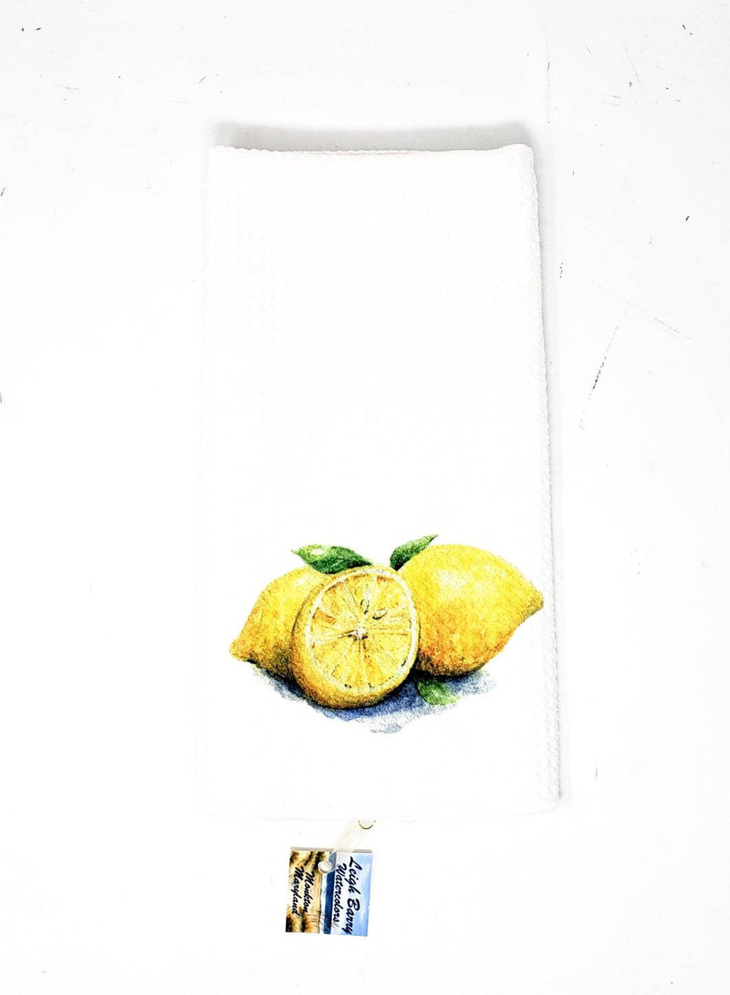 Lemons Tea Towel, lemons art, kitchen towels watercolor fruit, lemon decor, kitchen decor, kitchen art, citrus decor, lemon kitchen art