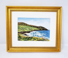 Load image into Gallery viewer, Irish Seaside Ireland Watercolor Painting Print Or Original Irish painting Giclee reland Irish art Irish cottage island painting ocean - Leigh Barry Watercolors