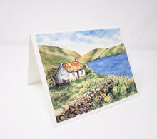 Load image into Gallery viewer, Irish notecards Ireland landscape painting irish cottage notecards Irish gift thank you notes blank notecards greeting cards watercolor - Leigh Barry Watercolors