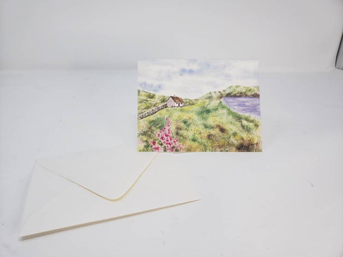 Irish Landscape Notecards Blank Notecards Ireland landscape watercolor Irish gift Thank you notes  stocking stuffer original painting - Leigh Barry Watercolors