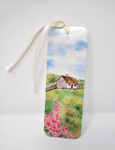 Irish Cottage By The Sea Bookmarker Irish gift stocking stuffer teacher gift Irish gift for reader gift for mom