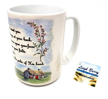 Load image into Gallery viewer, Irish Blessing Mug Irish Coffee Mug Irish gift Ireland gift Irish Cottage Painting Ireland Landscape art Irish gift for mom camp mug latte - Leigh Barry Watercolors