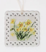 Load image into Gallery viewer, Daffodils Ornaments Spring Ornaments - Leigh Barry Watercolors