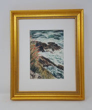 Load image into Gallery viewer, Slea Head: Ireland painting Irish landscape painting seaside print original watercolor landscape County Kerry Ireland Dingle Peninsula print - Leigh Barry Watercolors