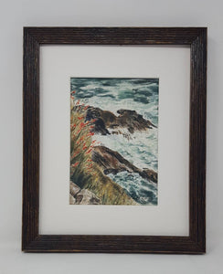 Slea Head: Ireland painting Irish landscape painting seaside print original watercolor landscape County Kerry Ireland Dingle Peninsula print - Leigh Barry Watercolors
