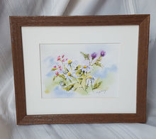 Load image into Gallery viewer, Summer Blooms: floral watercolor painting summer flowers home decor wall decor gift idea birthday gift settlement gift watercolor flowers - Leigh Barry Watercolors