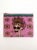 Blue Q Zipper Pouch | Day Of The Dead - Palencia's Market Street Boutique