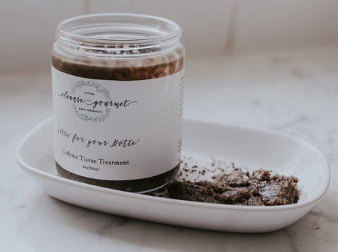 Cleanse Gourmet Fresh Bath Products | Latte for your Botte Caffeine Tissue Gourmet