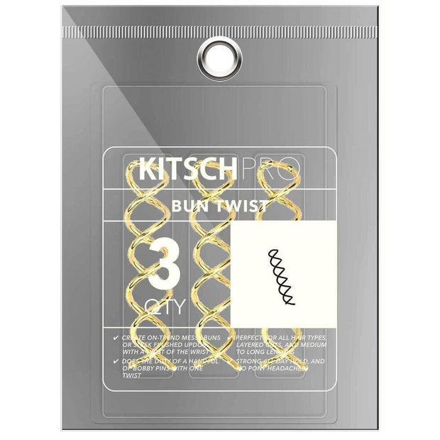 KITSCH - Gold Bun Twist