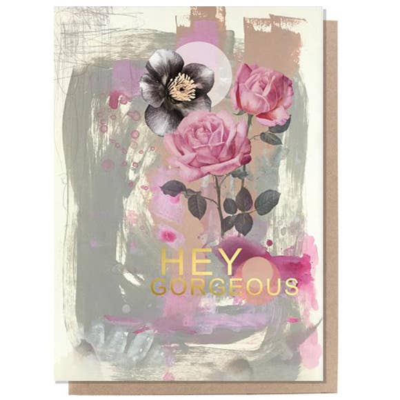 PAPAYA - Greeting Card - Hey Gorgeous