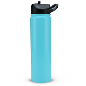 SIC 27oz water bottle- Gloss Seafoam Blue