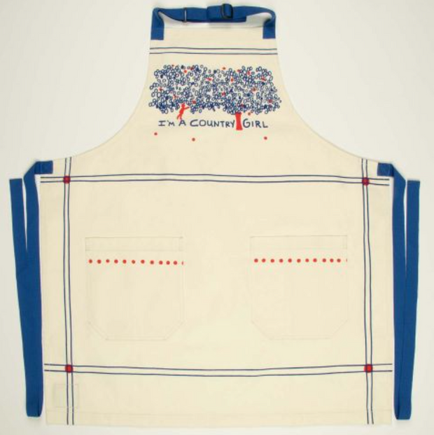 BLUE Q | I'm A Country Girl Apron
