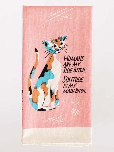 Blue Q- Dish Towel | Humans are my side.. - Palencia's Market Street Boutique