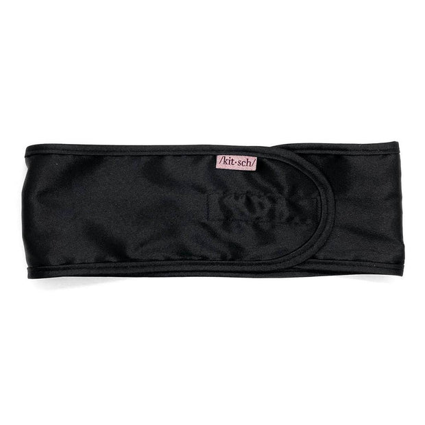KITSCH - Satin Sleep Headband - Black