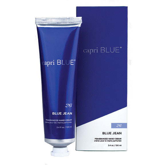 Capri Blue Fragranced Hand Cream - Blue Jeans