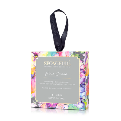 Spongelle | Boxed Flower | Black Orchid