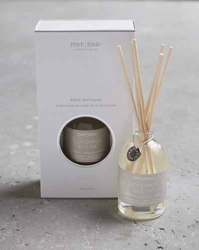 Mersea Glass Scent Diffuser-Coconut Sugar