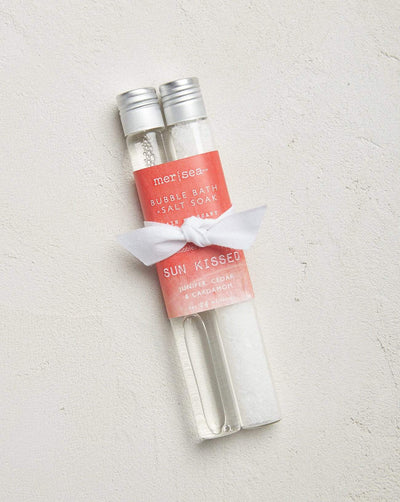 Bubble Bath + Salt Tube Set 1.5 oz each-Sun Kissed - Palencia's Market Street Boutique