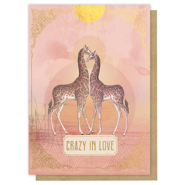 PAPAYA - Greeting Card - Crazy In Love