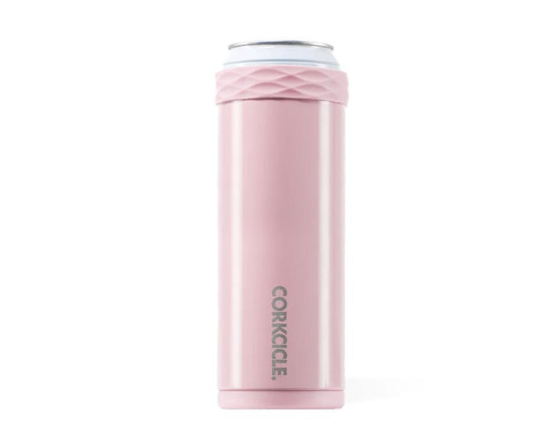 Slim Artican Rose Quartz Can Cooler