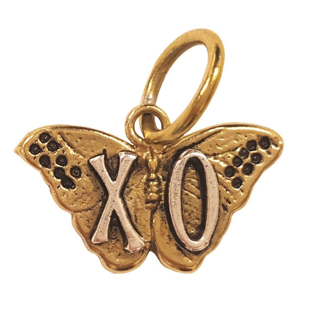XO Butterfly Charm - Palencia's Market Street Boutique