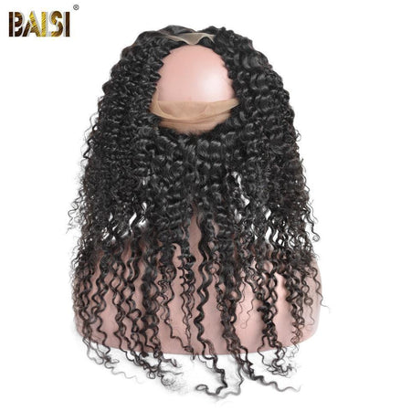 BAISI 8A 100% Virgin Hair Curly 360 Band - Baisi Hair