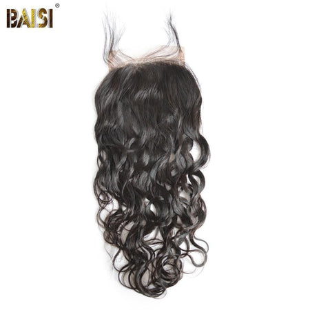 BAISI 8A 100% Virgin Hair Water Wave Lace Closure 4x4 / 5x5, Silk Based Closure 4x4 - Baisi Hair