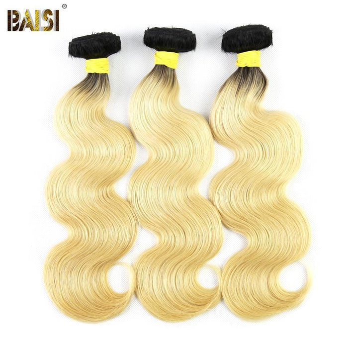 BAISI 10A 1BT 613# Cheveux Humains Eurasiens Blondes Body Wave