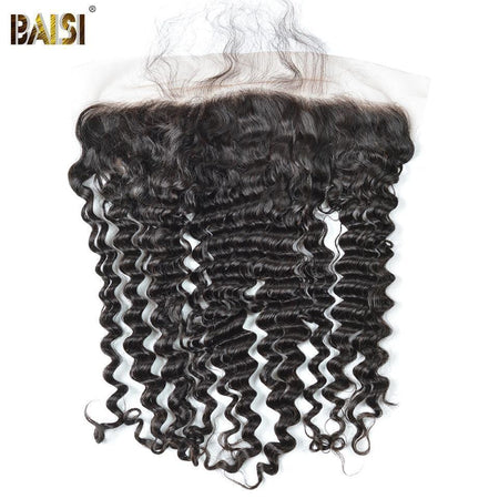 BAISI 8A 100% Virgin Hair Deep Wave Lace Frontal 13x4 - Baisi Hair