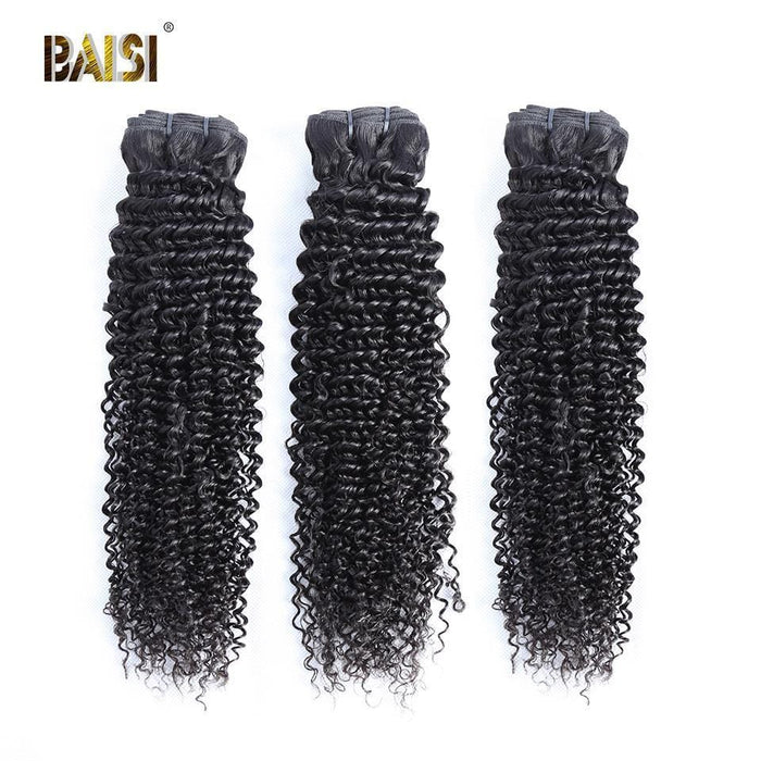 BAISI 8A Hair Weave Brazilian Virgin Hair Curly 8A Brazilian Virgin Hair hairbs