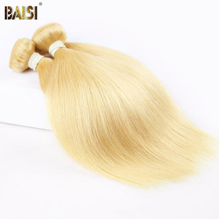 BAISI Cheveux Humains Eurasiens Lisses 10A Grade Blonde 613#