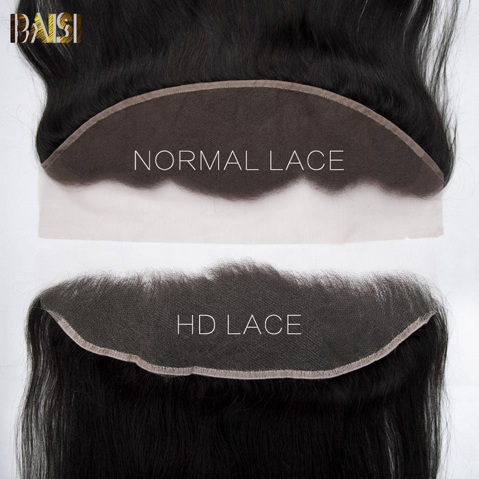 BAISI Hd Lace Frontal 13x4 En Lace Maigre Invisible