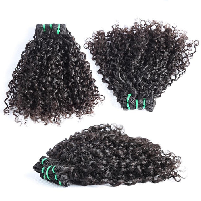 Top Grade Double Drawn 100% Virgin Hair Pissy One Fumi Hair Double Drawn hairbs