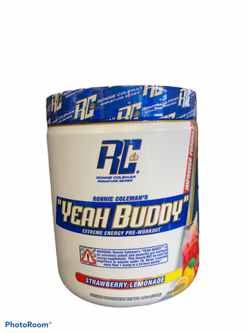 Ronnie Coleman - Yeah Buddy Strawberry Lemonade 270g