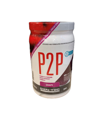 Gen-Tec P2P power to Perform Intra Workout - 900g