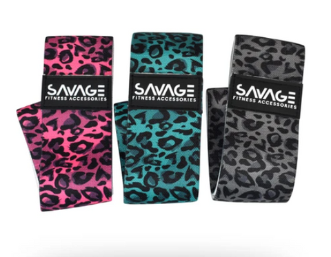 Savage Fitness Savanna 3pk Booty Band