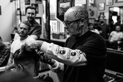 Shane Nesbitt at Lefty's Barbershop