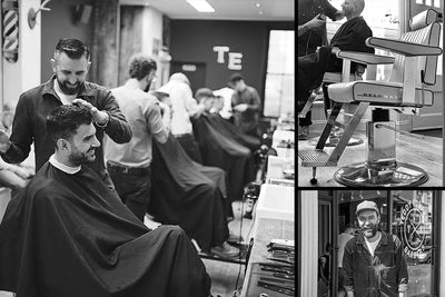 Barbers of the Month: Teddy Edwards Cutting Rooms
