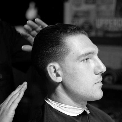High And Tight Slick Back - How To Cut