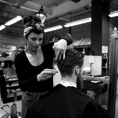 Vikki Smith of SB Barbering Academy