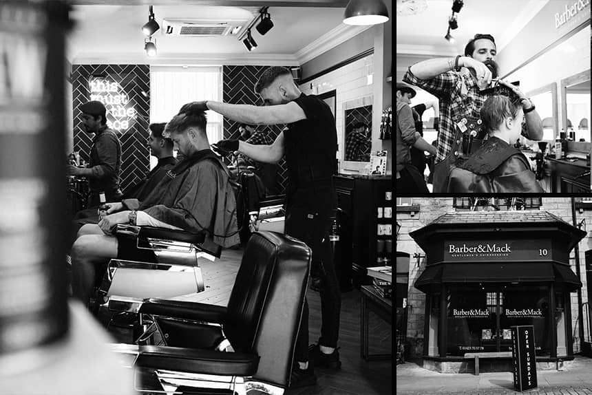 Barber and Mack - Uppercut Deluxe Barbers of the Month