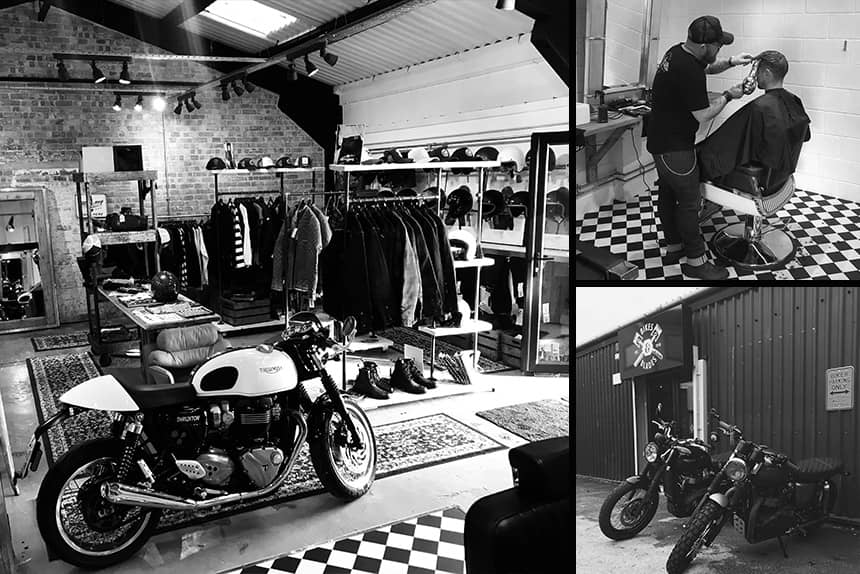 Uppercut Deluxe Barbers of the Month - Bikes and Blades