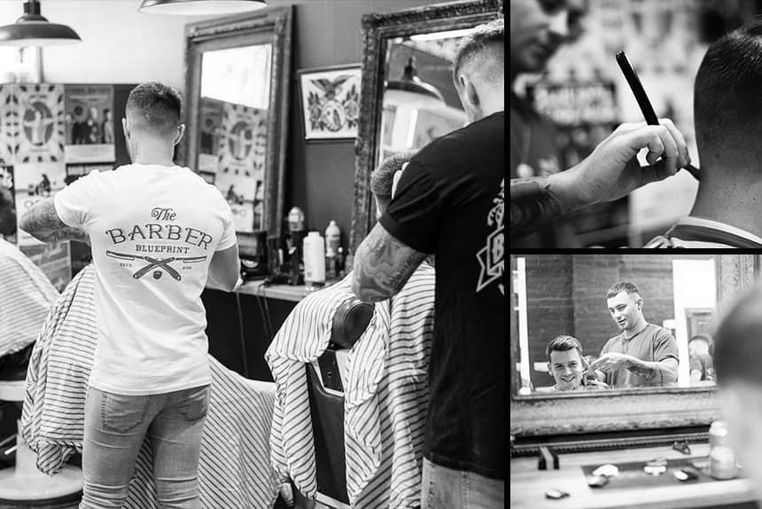 The Barber Blueprint - Uppercut Deluxe Barbers of the Month