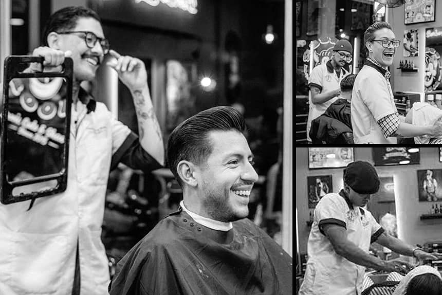 Uppercut Deluxe Barbers of the Month - Barber Room