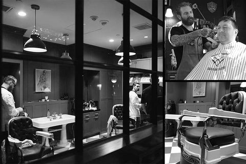 Brass Tacks Barbershop - Uppercut Deluxe Barbers of the Month