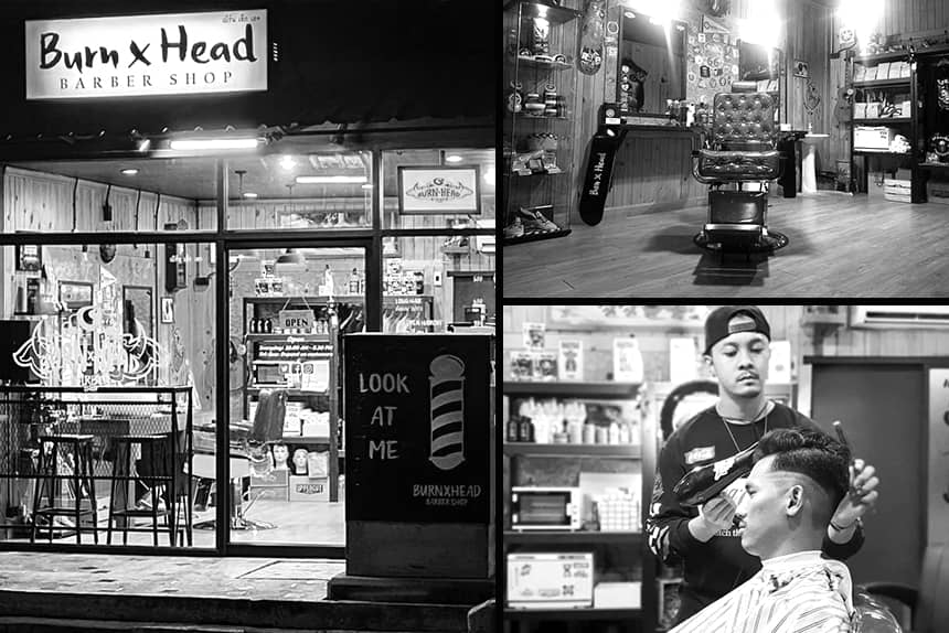 BurnXHead Barbershop - Uppercut Deluxe