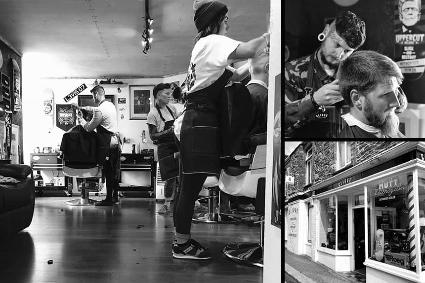 Clique Barbers - Uppercut Deluxe Barbers of the Month