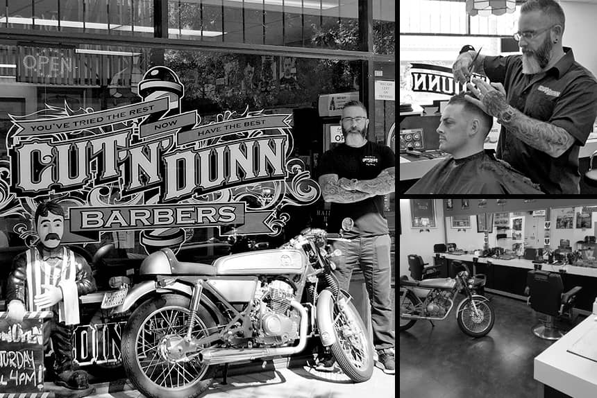 Cut N Dunn Barbers - Uppercut Deluxe Barbers of the Month