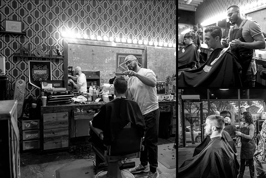 Uppercut Deluxe Barbers of the Month - High and Tight Barbershop