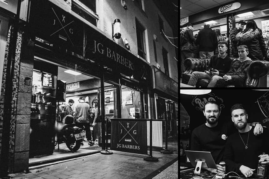 Uppercut Deluxe Barbers of the Month - JG Barbers